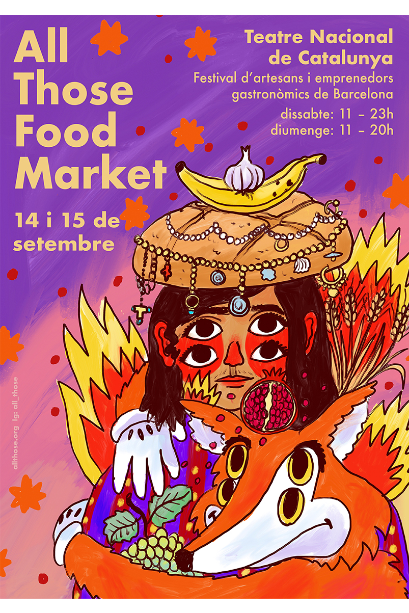 All those food market Septiembre