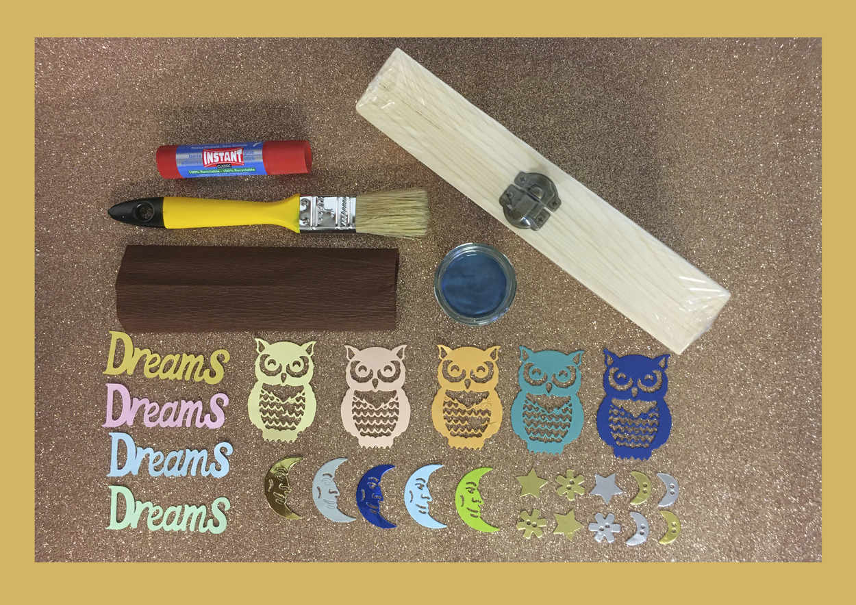 Com decorar una capsa de fusta amb Chalk Paint-1 manualitats infantils, tallers infantils, Just for you Kids, justforyoukids