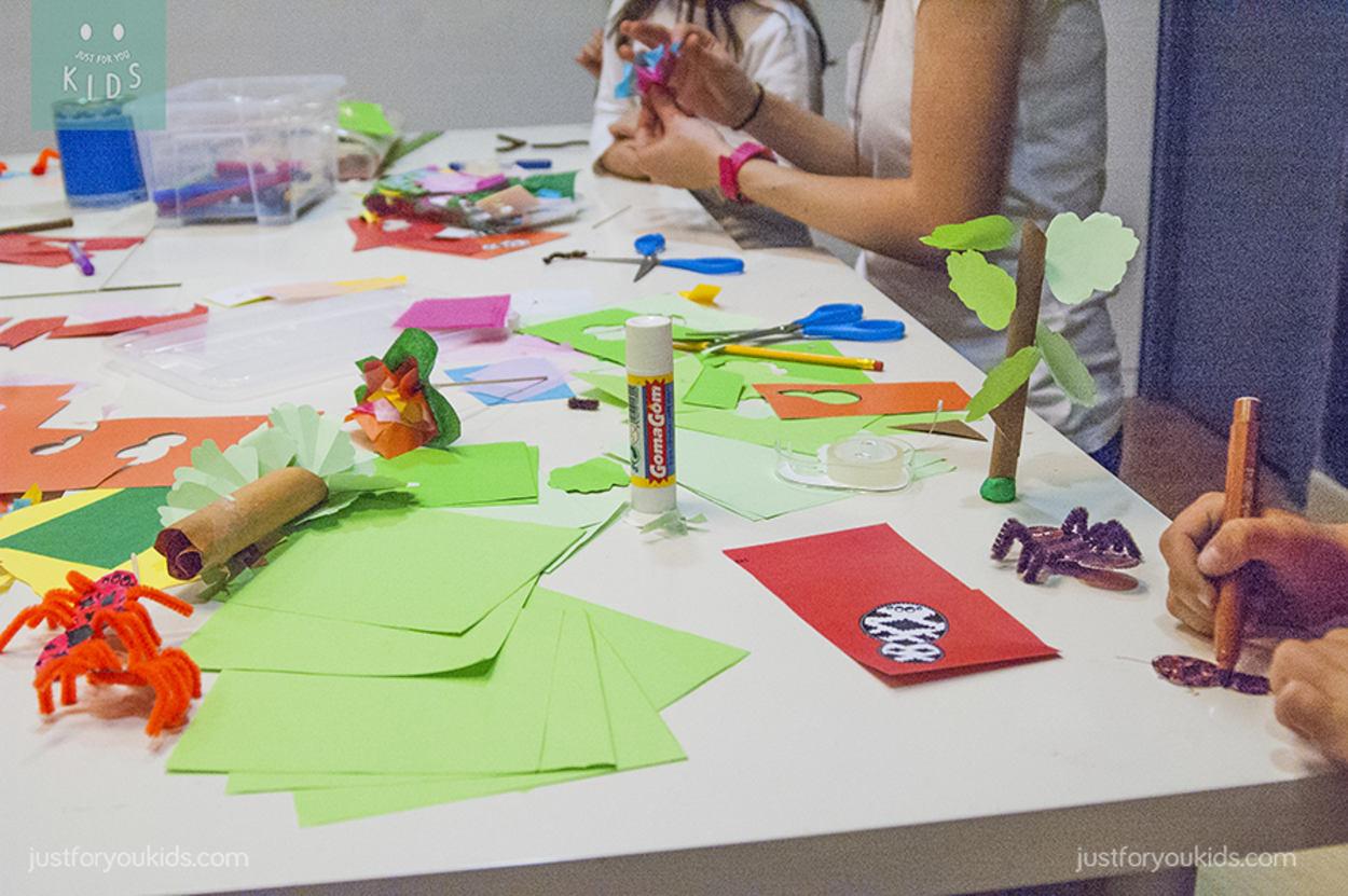 Blog infantil taller de manualidades los animales de la - Talleres manualidades para adultos ...
